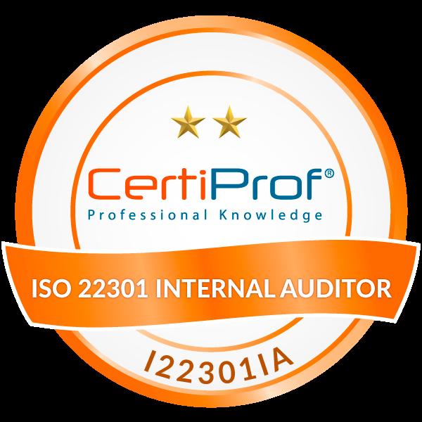 ISO/IEC 22301 Internal Auditor