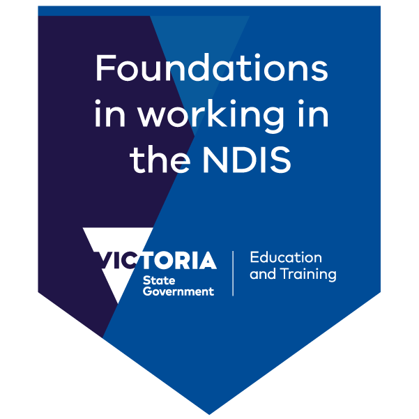 Foundations in working in the NDIS