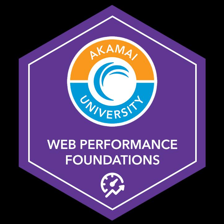Akamai Web Performance Foundations