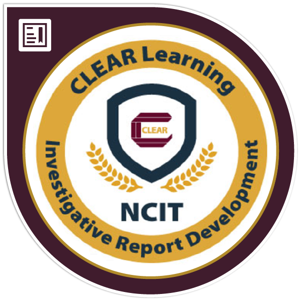 NCIT Specialized - Report Development