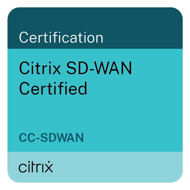 Citrix SD-WAN Certified (CC-SDWAN)