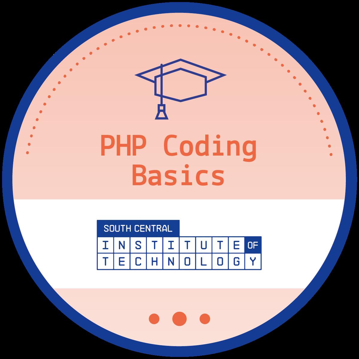 PHP Coding Basics