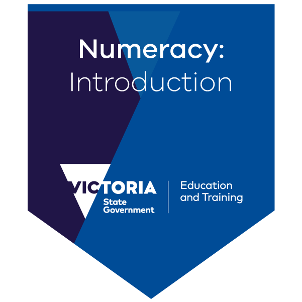 Getting started with Numeracy