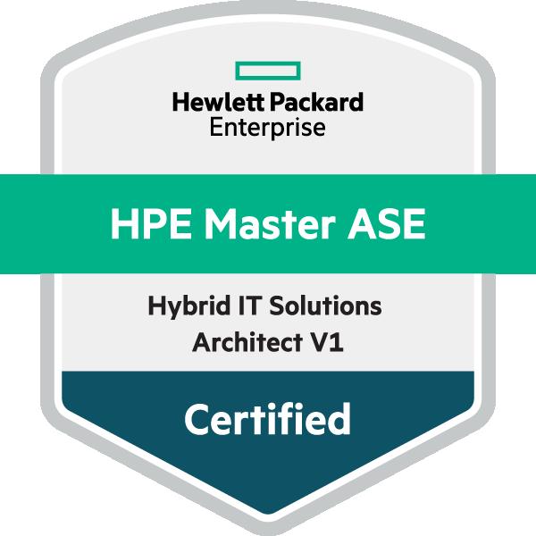 HPE Master ASE - Hybrid IT Solutions Architect V1