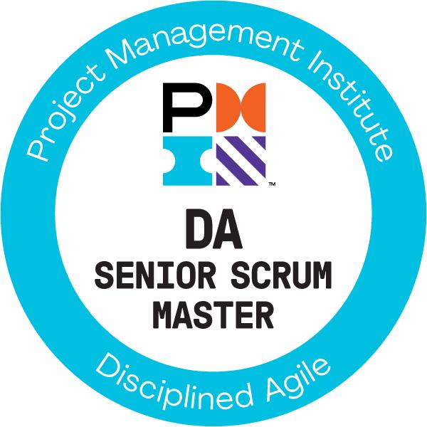 Disciplined Agile Senior Scrum Master (DASSM)