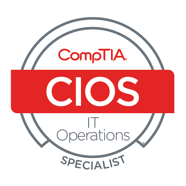 CompTIA IT Operations Specialist – CIOS Stackable Certification
