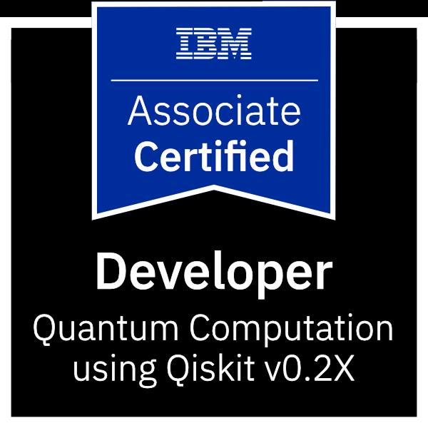 IBM Certified Associate Developer - Quantum Computation using Qiskit v0.2X