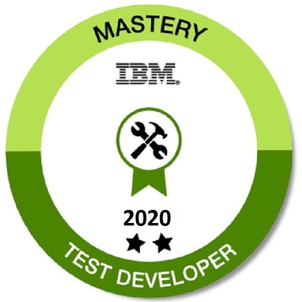 Mastery Test Developer 2020 - Level 2