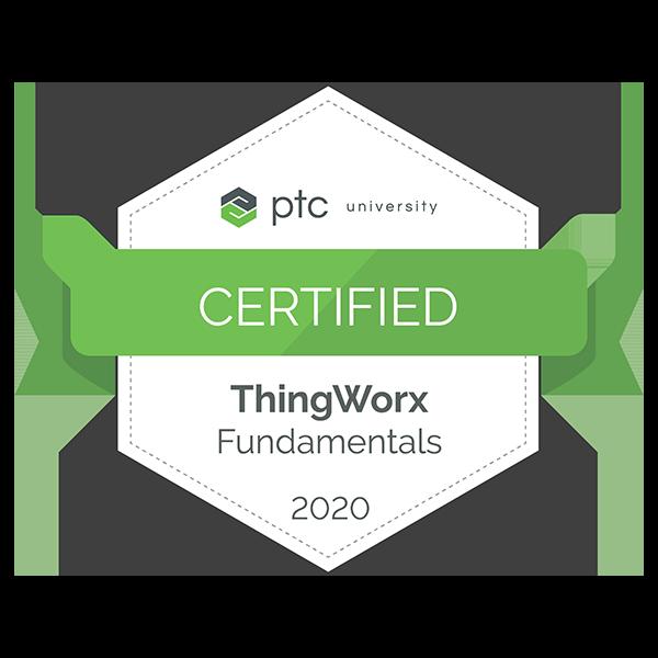 ThingWorx Fundamentals Certification 2020