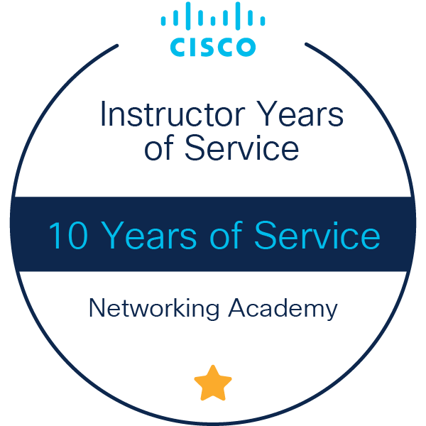 Instructor 10 Years of Service