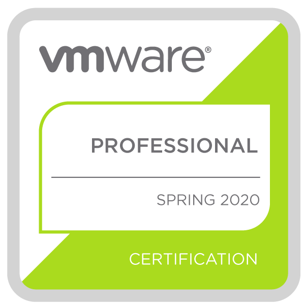 VMware Spring Professional 2020