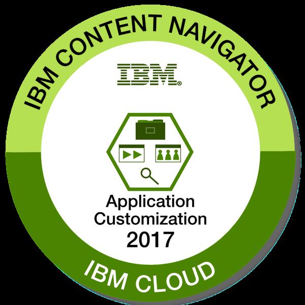 IBM Content Navigator Application Customization - 2017