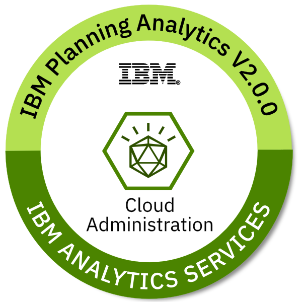 IBM Planning Analytics V2.0.0 Cloud Administration