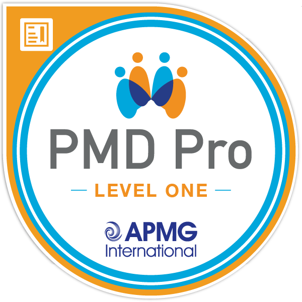 Project Management for Development Professionals (PMD Pro) Level 1