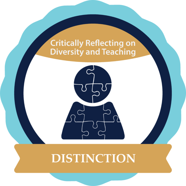 Critically Reflecting on Diversity and Teaching in SUNY with Distinction