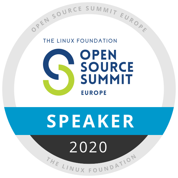 Speaker: Open Source Summit Europe 2020