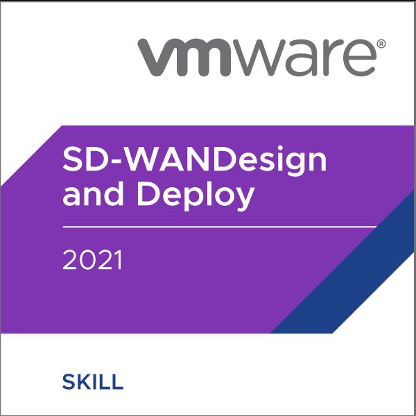 VMware SD-WAN Design and Deploy 2021