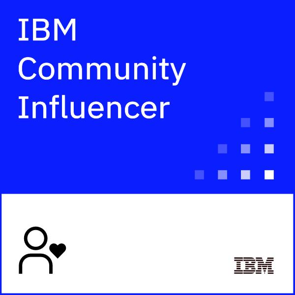 IBM Community Influencer