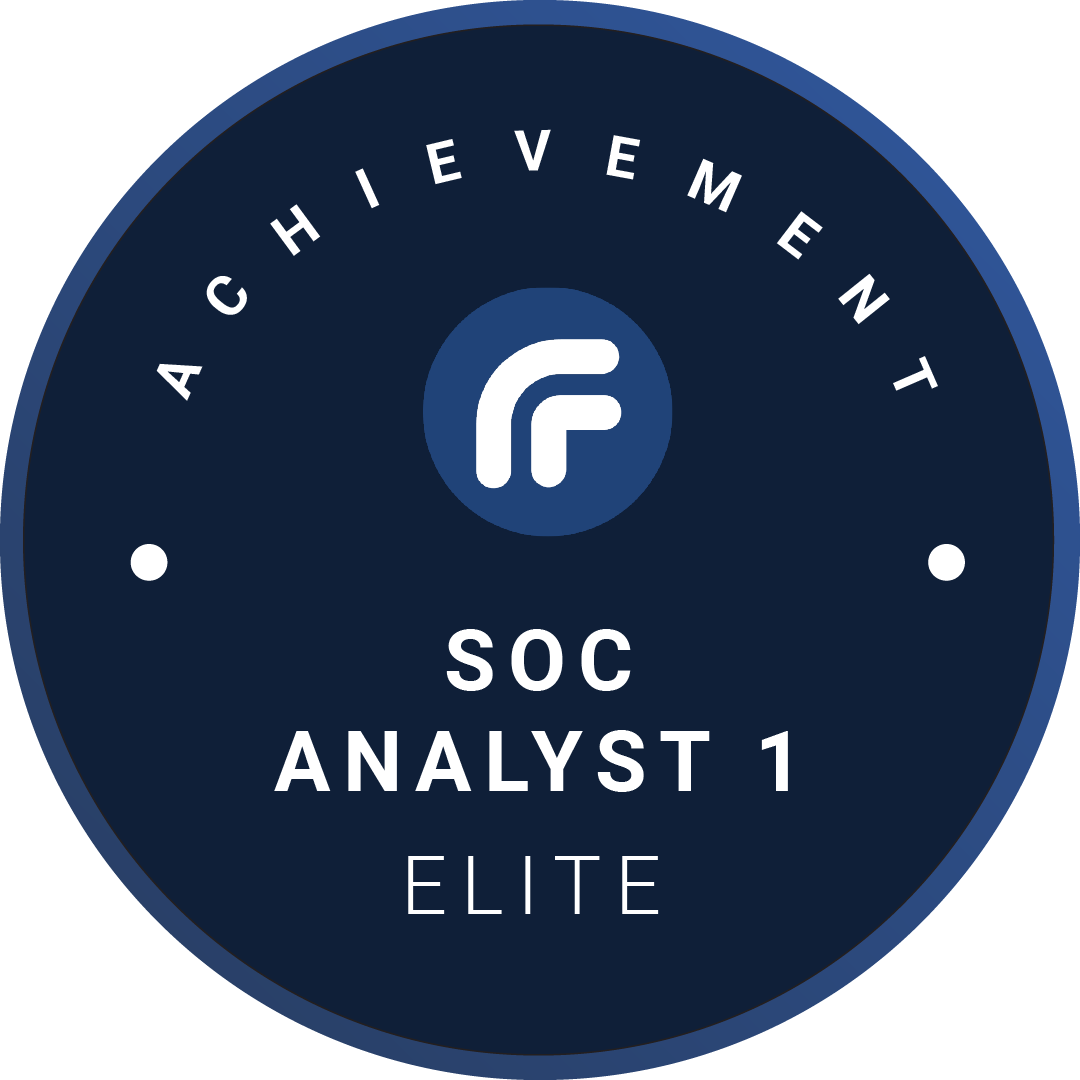 SOC Analyst 1 Elite
