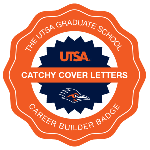 CAREER BUILDER: Writing Catchy Cover Letters