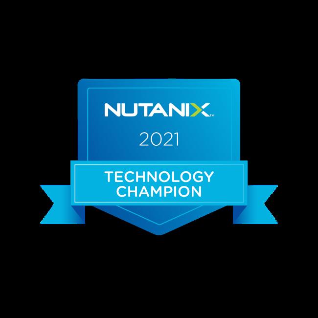 Nutanix Technology Champion (2021)
