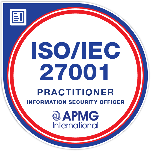 ISO/IEC 27001 Practitioner - Information Security Officer