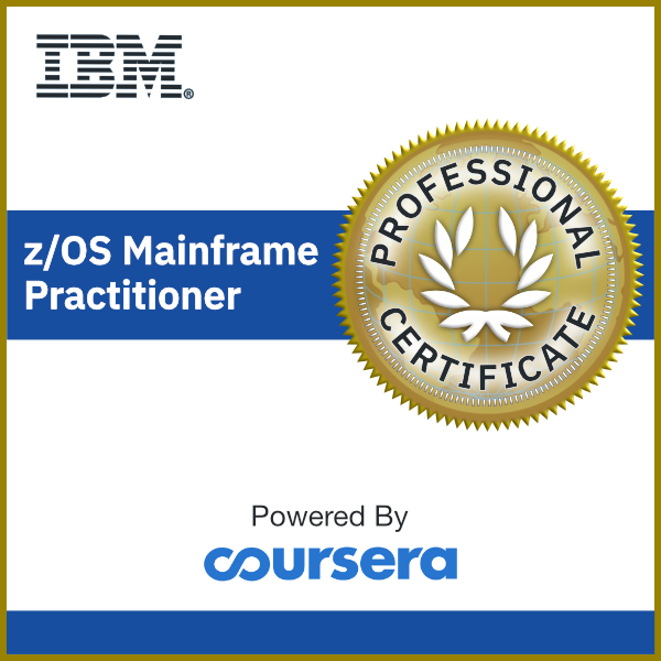 z/OS Mainframe Practitioner