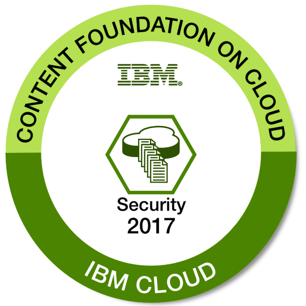 IBM Content Foundation on Cloud - Security - 2017
