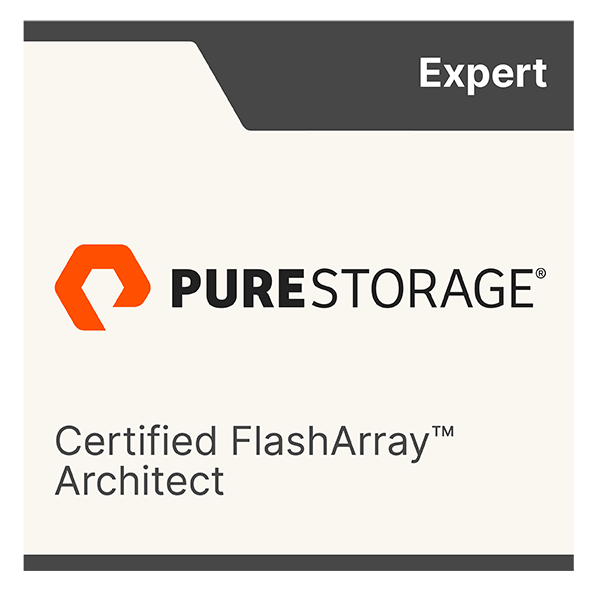 Pure Storage FlashArray Architect Expert