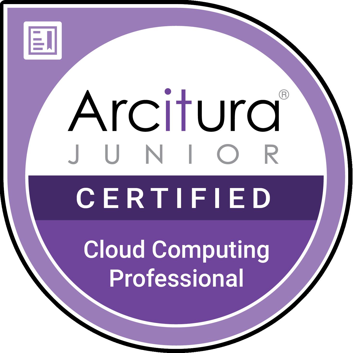 Junior Cloud Computing Professional