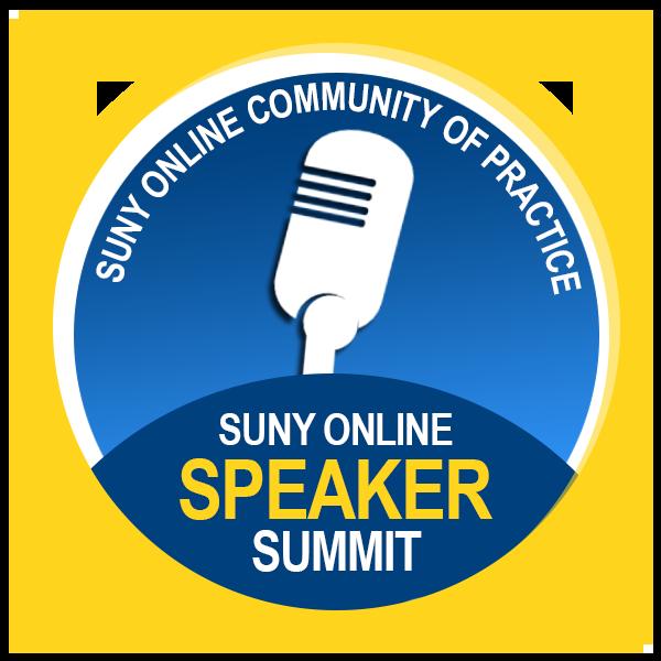 SUNY Online Summit Speaker