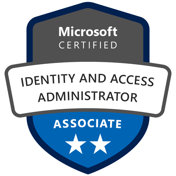 Microsoft Certified: Identity and Access Administrator Associate