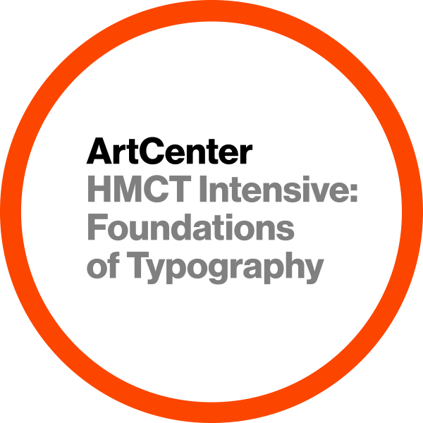 HMCT Intensive: Foundations of Typography