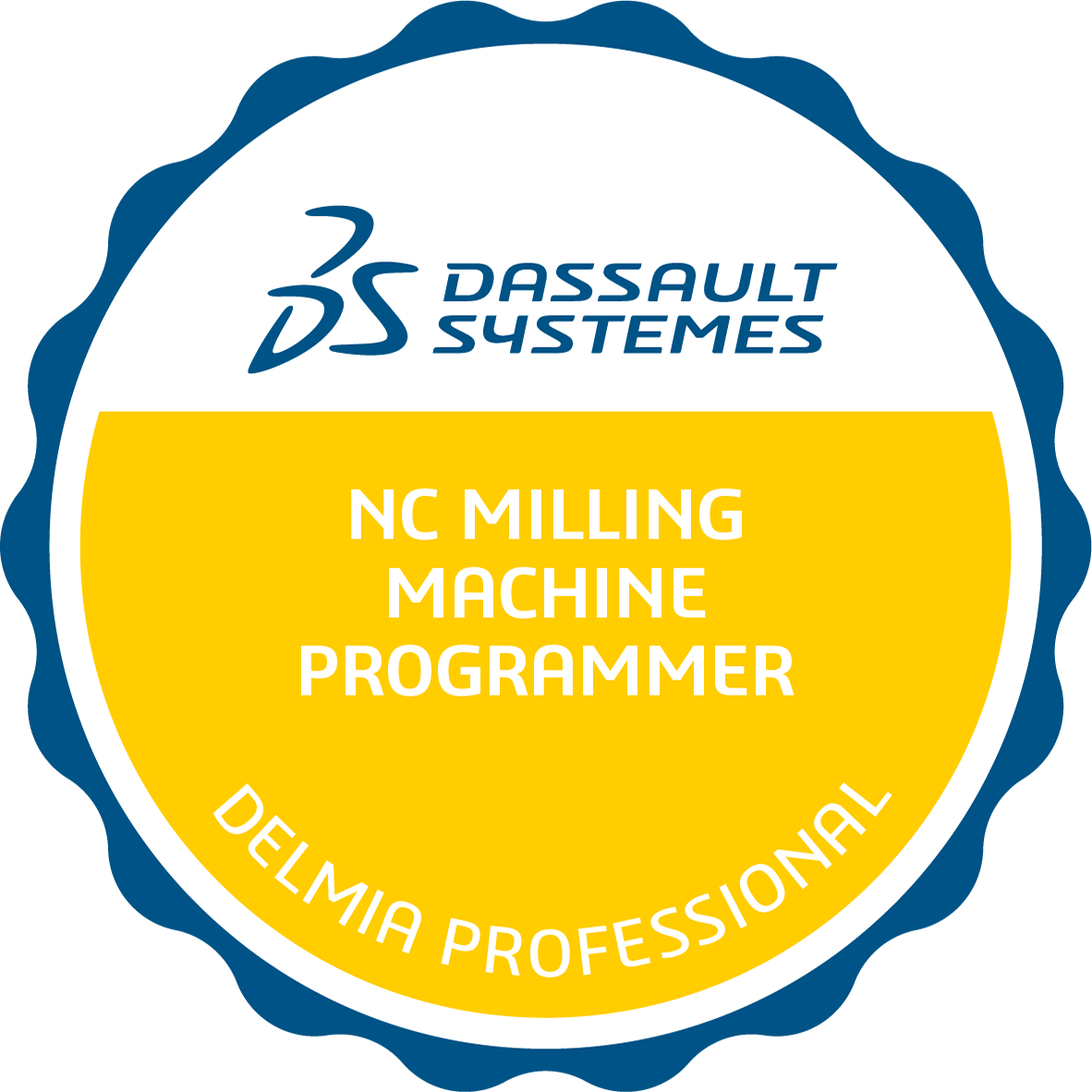 Certified 3DEXPERIENCE NC Milling Machining Programmer Professional