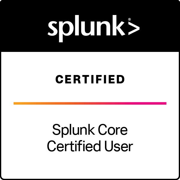 Splunk Core Certified User