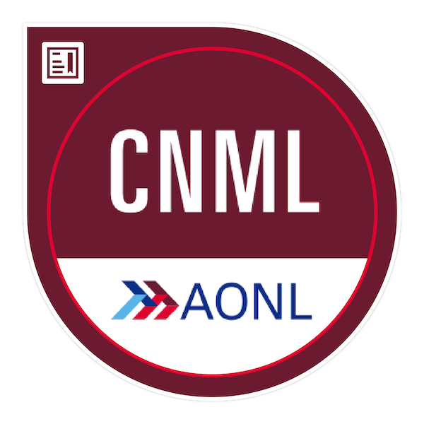 Certified Nurse Manager and Leader