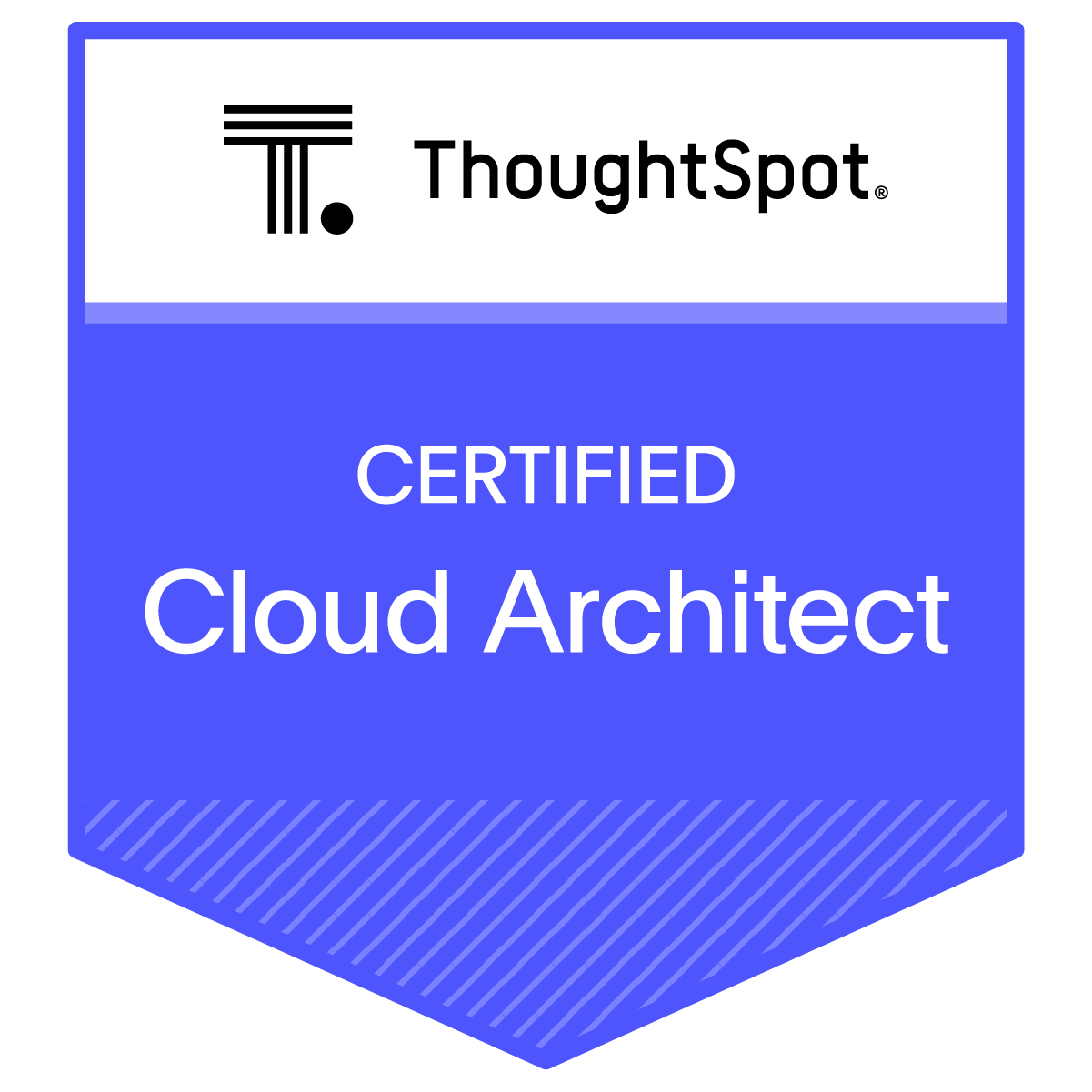 Certified ThoughtSpot Cloud Architect