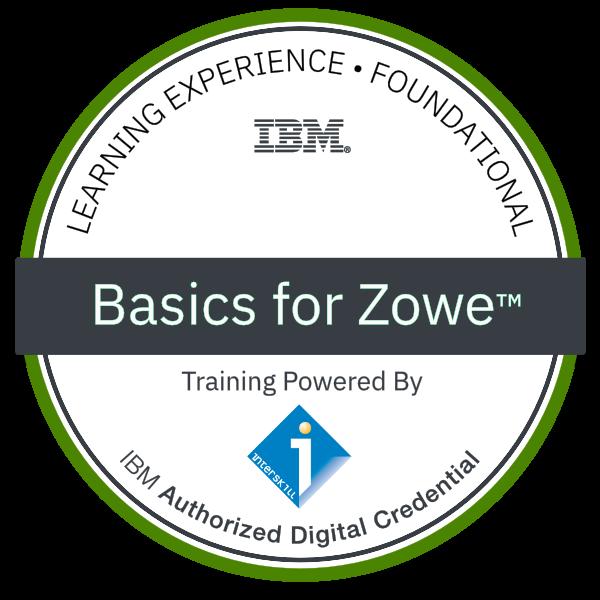 Interskill - Basics for Zowe™