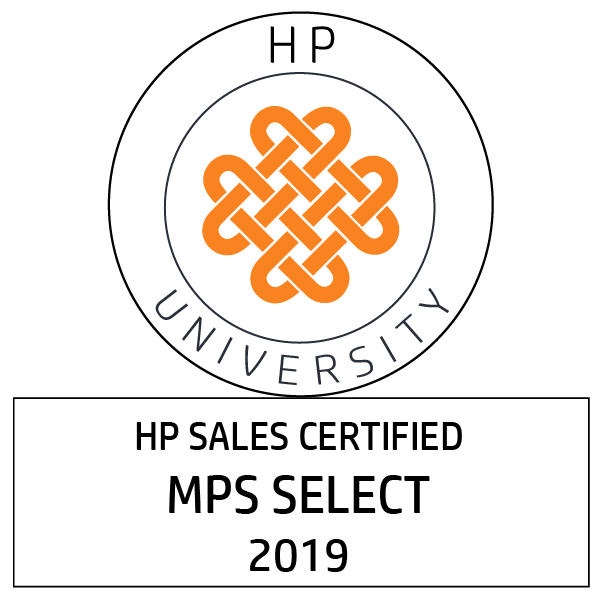 HP Sales Certified – Managed Print Specialist Select [2019]