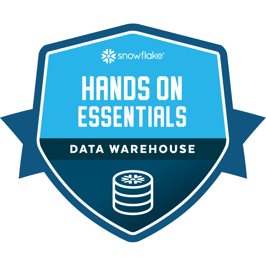 Hands On Essentials - Data Warehouse