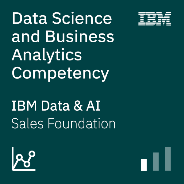 Data Science and Business Analytics Competency Sales Foundation