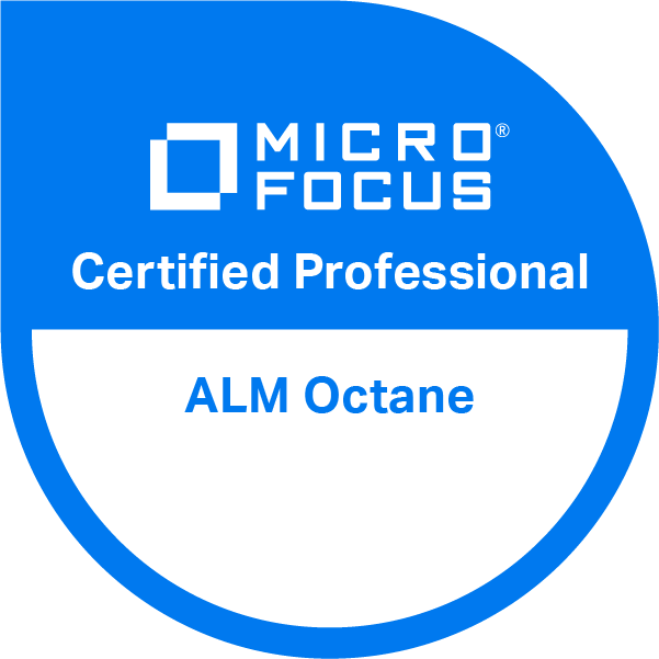 ALM Octane v15 Certified Professional