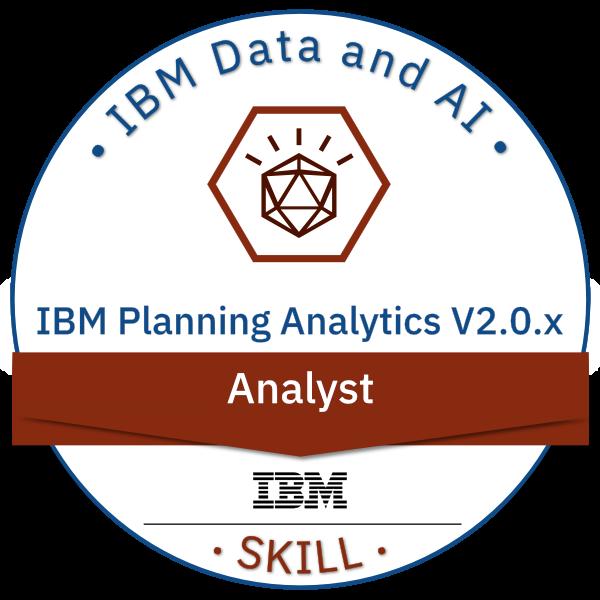 IBM Planning Analytics V2.0.x Analyst