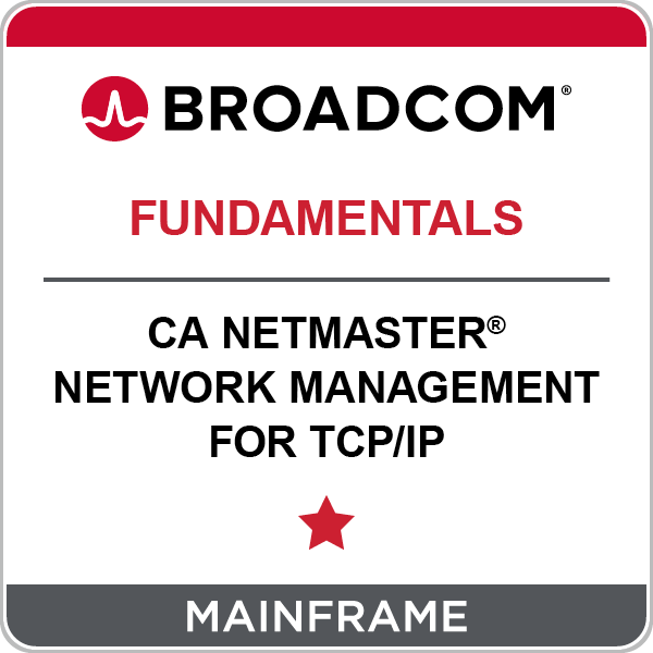 CA NetMaster® Network Management for TCP/IP - Fundamentals