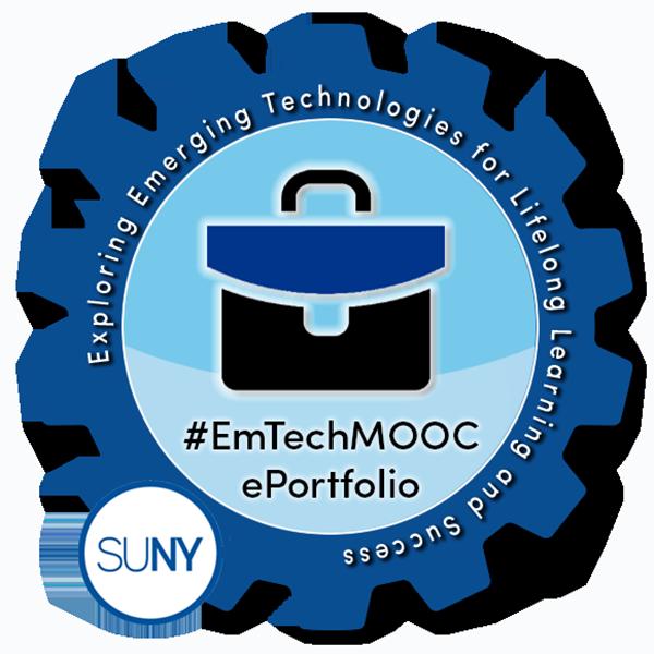 SUNY #EmTechMOOC ePortfolio
