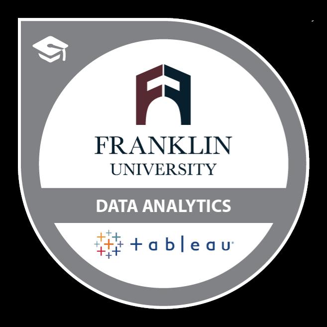 Tableau Data Analytics