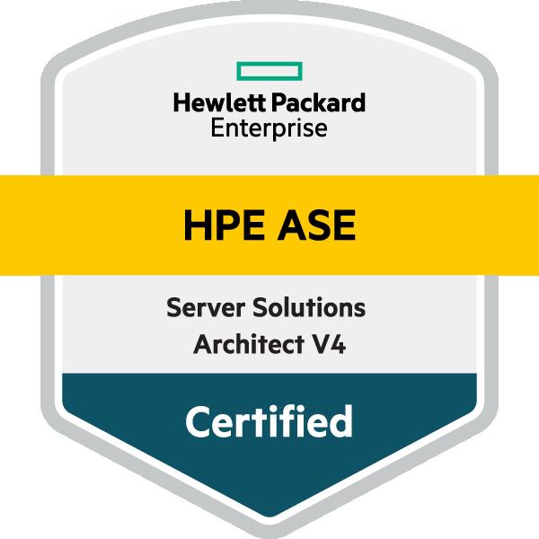 HPE ASE - Server Solutions Architect V4