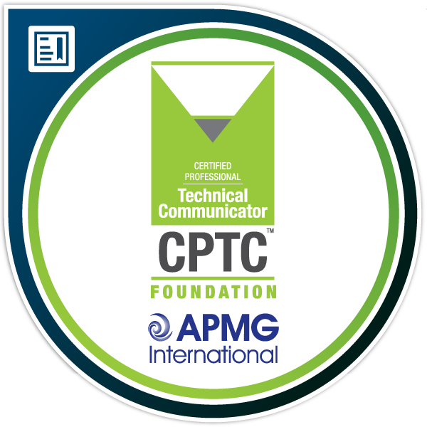 Certified Professional Technical Communicator (CPTC™) Foundation