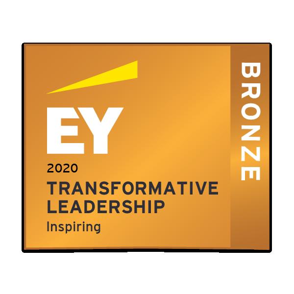 EY Transformative leadership - Inspiring - Bronze