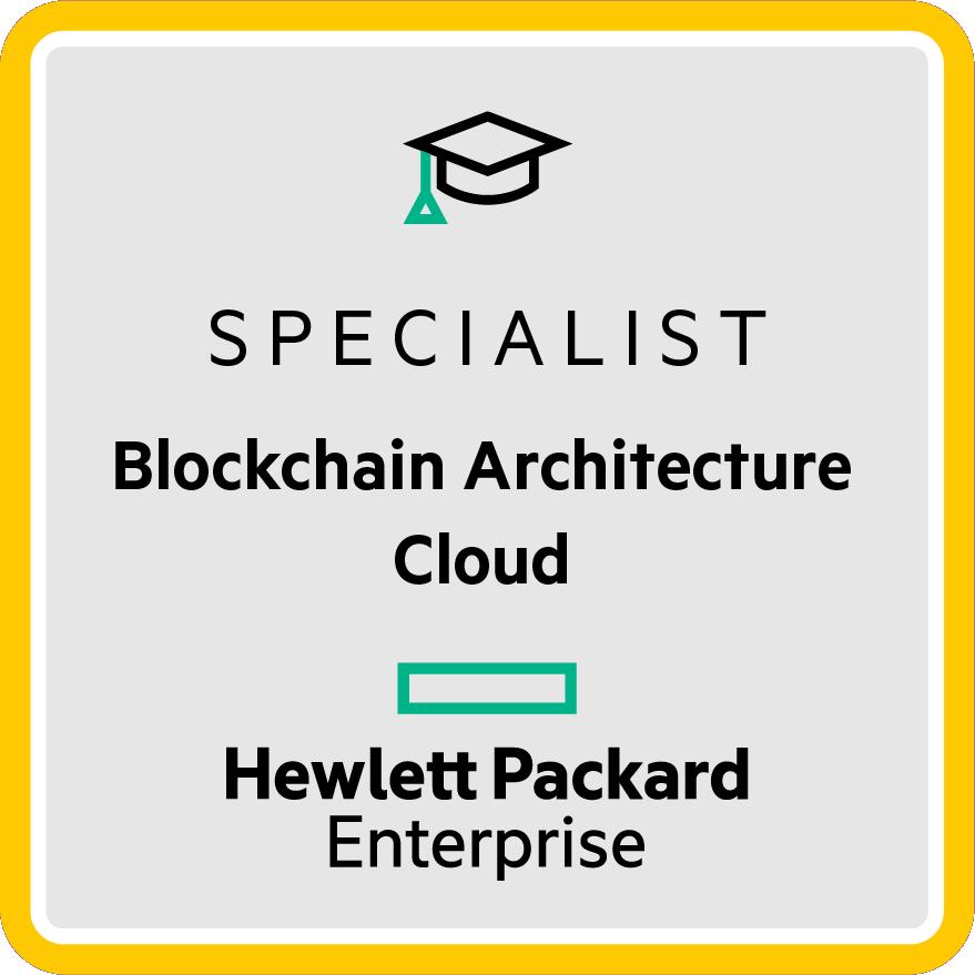 HPE Specialist - Blockchain Architecture Cloud